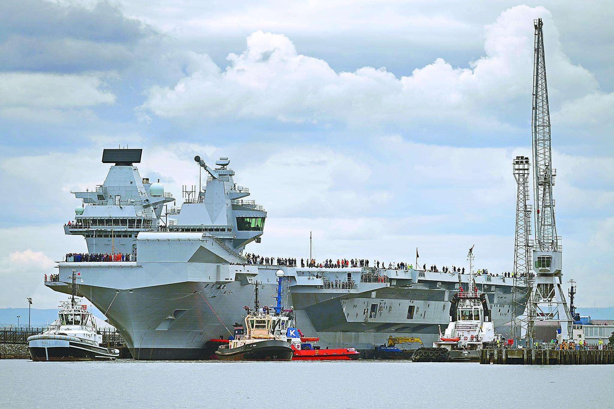 一張圖對比中英海軍實力,我國該如何應對?官媒:讓他們有來無回