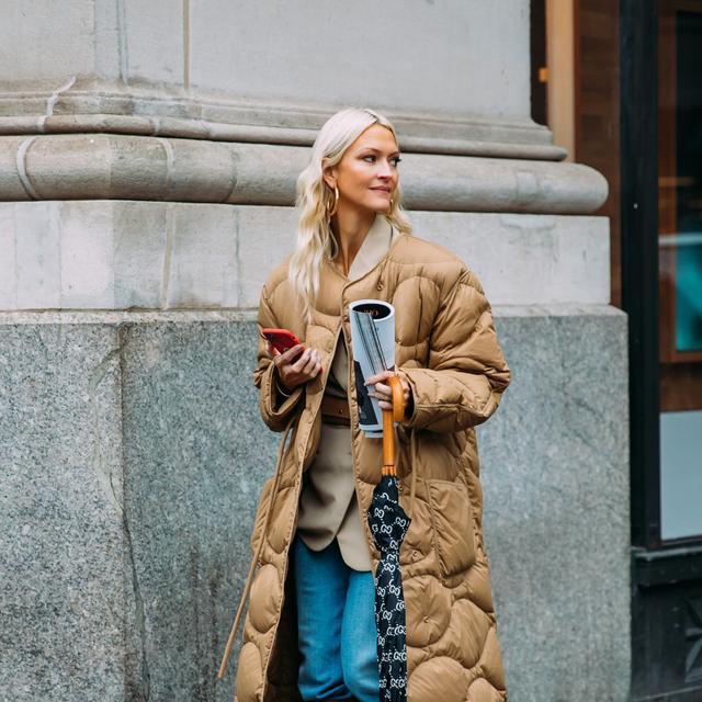 街拍look|冬季保暖羽絨服+毛絨厚外套,暖心又時髦搭配解析