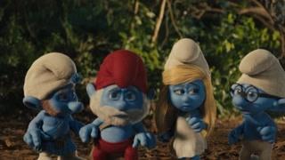 蓝精灵意外走出魔法森林 外面的世界很精彩