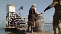 鲨鱼星球 鲨鱼冲出海面吞活人 舢板城遭血洗