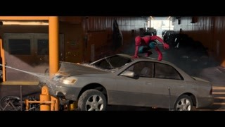 蜘蛛侠对战秃鹰 蜘蛛侠稚嫩的像个孩子