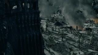 面对树人愤怒的攻击 萨鲁曼开始慌了