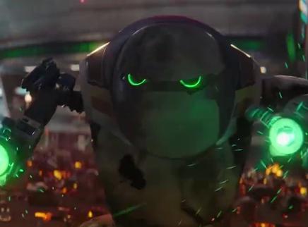 《未来机器城》终极大战片段 最强机甲battle