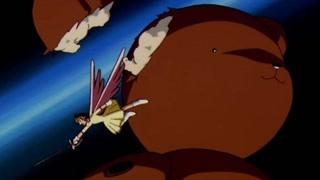 小樱战斗力升级,竟然长出了翅膀!