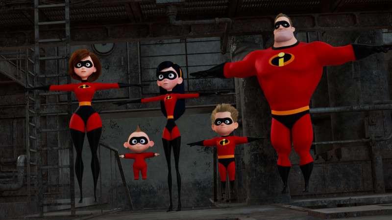 皮克斯回归口碑大爆年度力作《超人总动员2》曝光两支片段