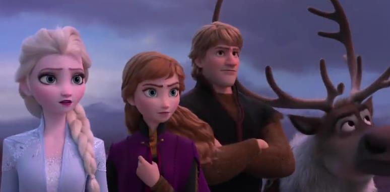 《冰雪奇缘2》首款预告片