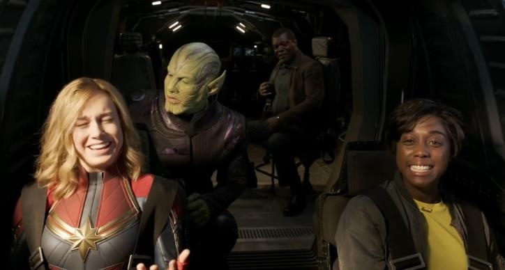 《惊奇队长》NG搞笑片段