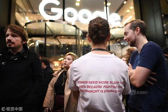 谷歌員工抗議公司種族和性別歧視
