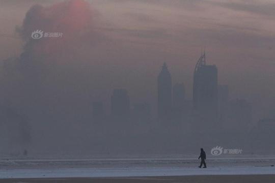 """""""北国冰城""""哈尔滨遭遇入冬供暖以来最严重污染天"""