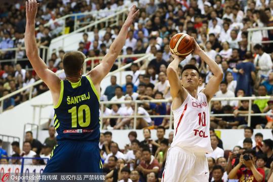 中斯对抗赛-中国男篮VS斯洛文尼亚