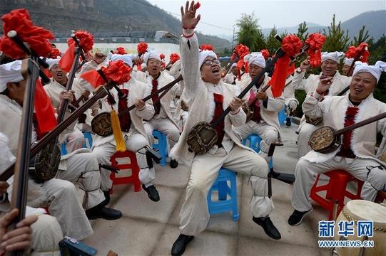 【高清】陕西安塞:民间艺术助推乡村旅游