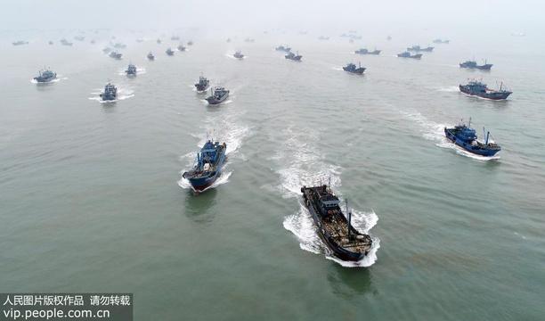 福建泉州:百舸争流 出海捕鱼