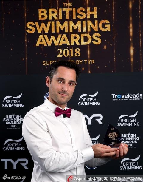 斯科特夺英国游泳年度最佳