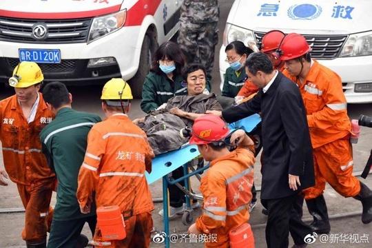 龙郓煤业冲击地压事故:一名旷工获救