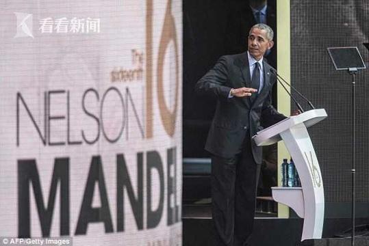 奥巴马借曼德拉斥责特朗普:不知羞耻的说谎精