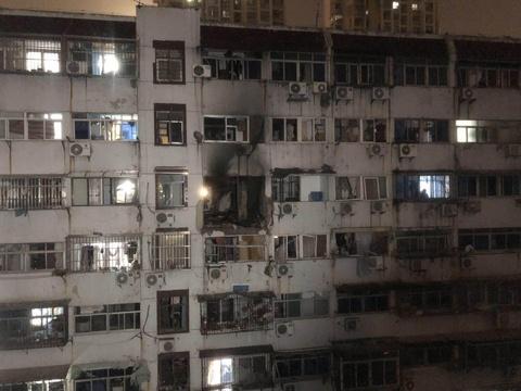 惠工小区轰燃 办事处逐户登记财产损失