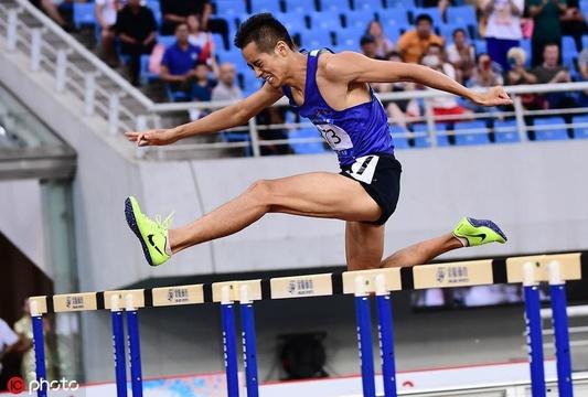 世錦賽選拔賽男子400米欄劉洋洋奪冠