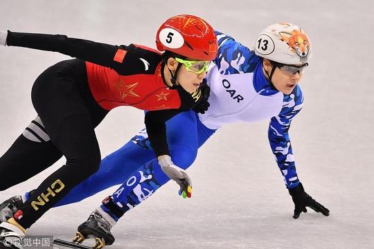 平昌冬奥会短道速滑女子500米赛况