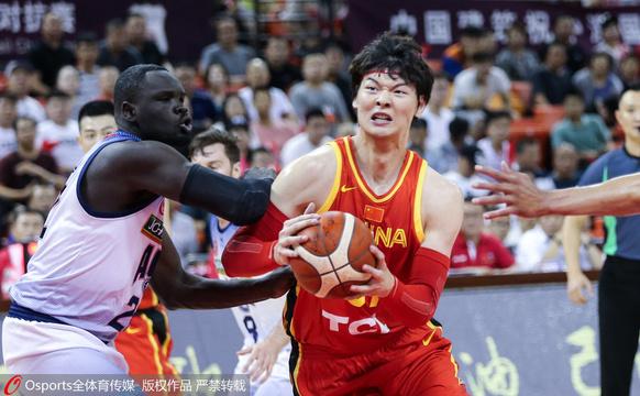 热身-中国男篮89-77澳大利亚NBL联队