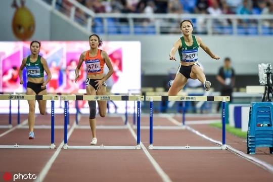 世錦賽選拔賽女子400米欄賽況