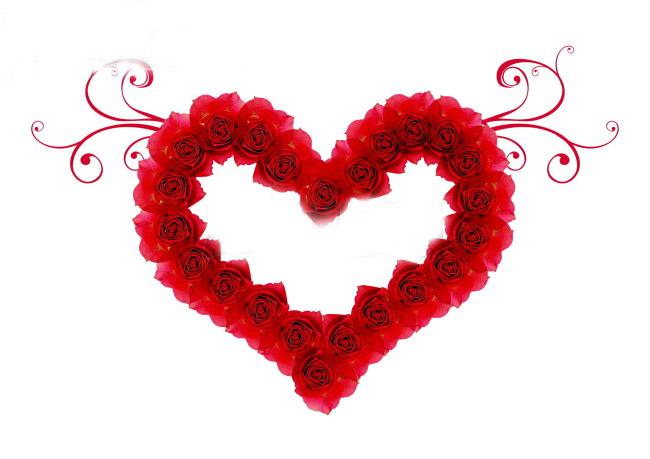 qq表情玫瑰心形_qq表情玫瑰爱心_qq表情玫瑰爱心画法
