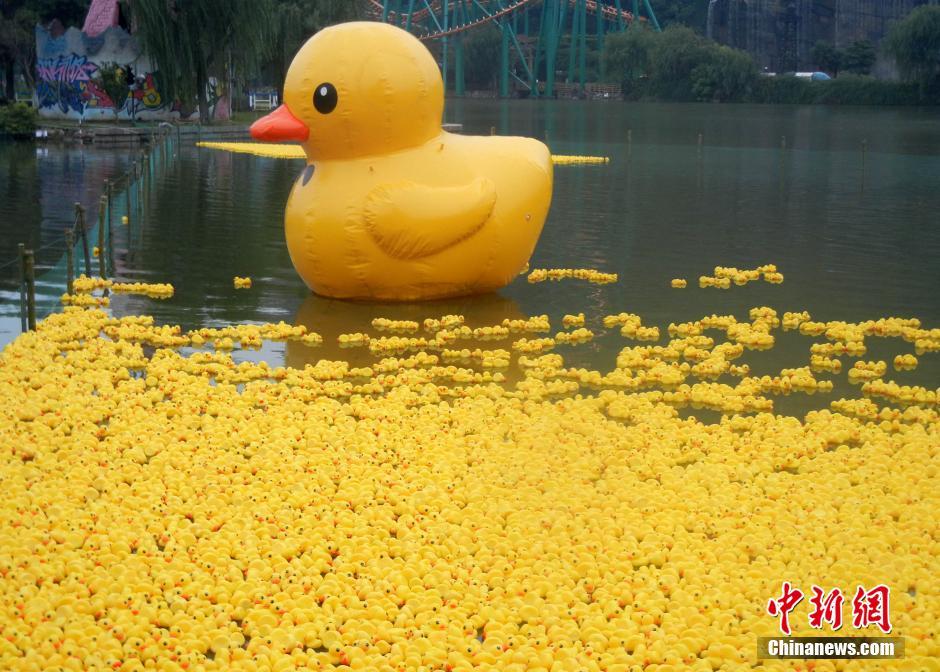 大黄鸭事件是什么_大黄鸭的意义_大黄鸭是什么意思_大黄鸭的来历_淘宝助理