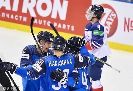 2019男子冰球世锦赛小组赛A组:芬兰Vs英国