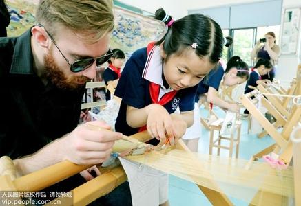 江苏苏州:加拿大职前教师感受中国非遗艺术