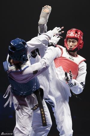 跆拳道世锦赛赵帅晋级63公斤级决赛