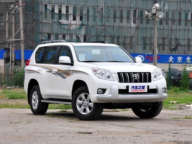 一汽丰田普拉多 2010款 4.0l tx-l navi