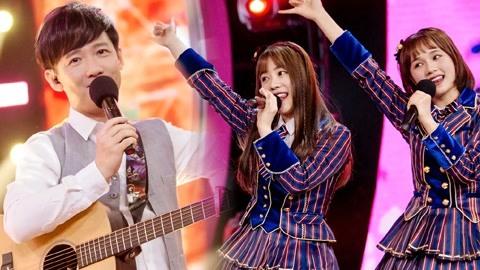 声音的抉择之阿牛回归迎唱跳车轮战 AKB48唱《对面的男孩看过来》