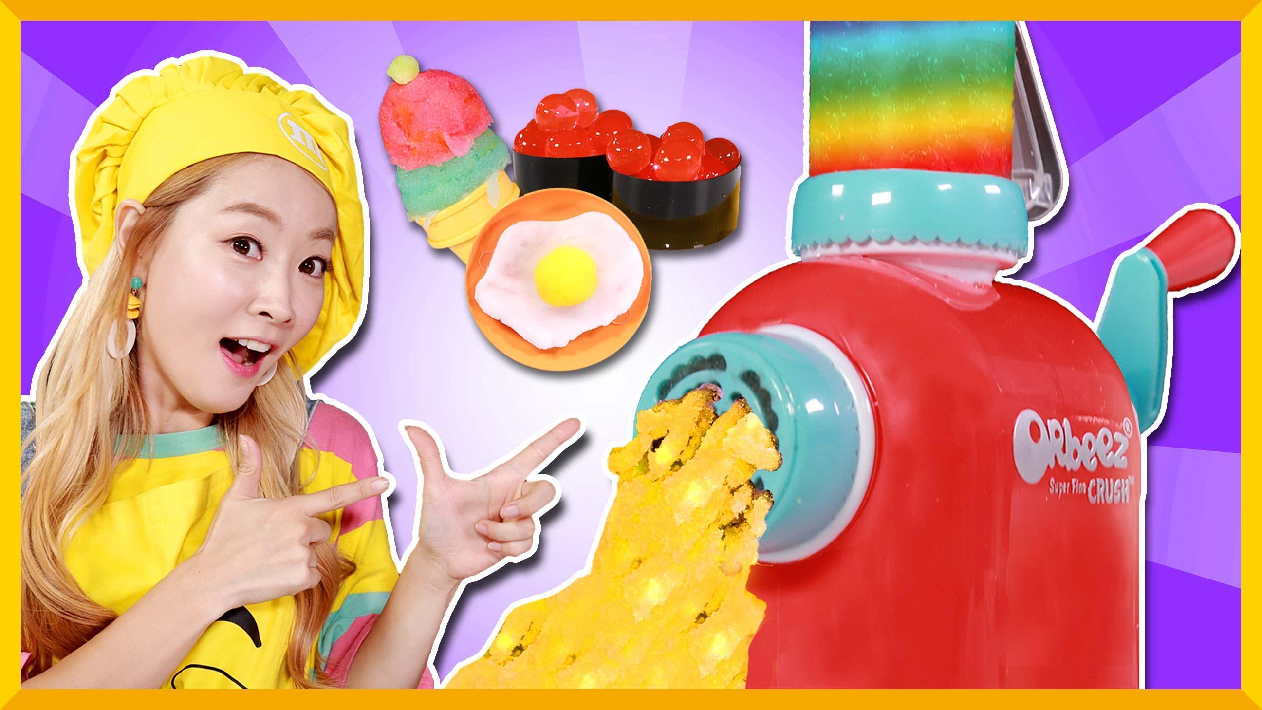 小火车自助餐厅~用海洋宝宝DIY特色美食 | 爱丽和故事 EllieAndStory