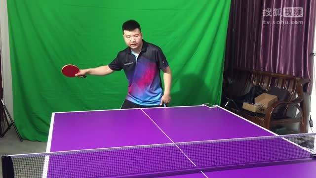 《乒乓网私人教练》正手快带反带弧圈球,手臂快收是关键!乒乓球教学视频