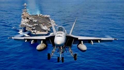 美军演目的:航母VS航母