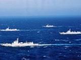 中国海军40舰艇实战化大演习 海域很重要