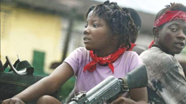 用毒品控制儿童,女孩怀孕还要上战争,非洲童子军有多悲惨!