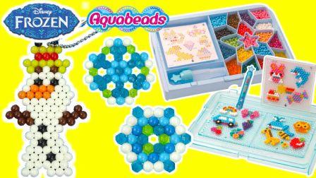 冰雪奇缘魔法水溶豆DIY拼图玩具(二) 273