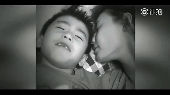 谢霆锋儿子向张柏芝表白:你是最好的妈妈,我爱你_