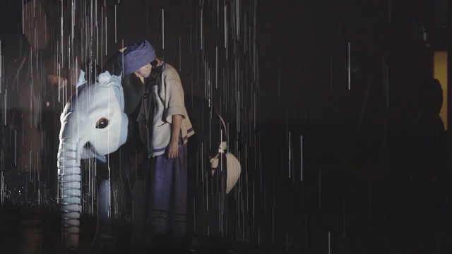 大雨洗刷的是记忆,是对生命的祝福