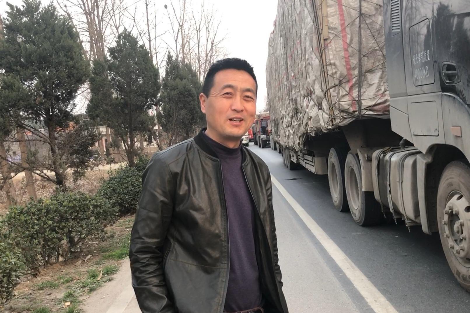 农村大哥花费50万买大货车,跑运输1年多后悔吗?看看他是咋说的