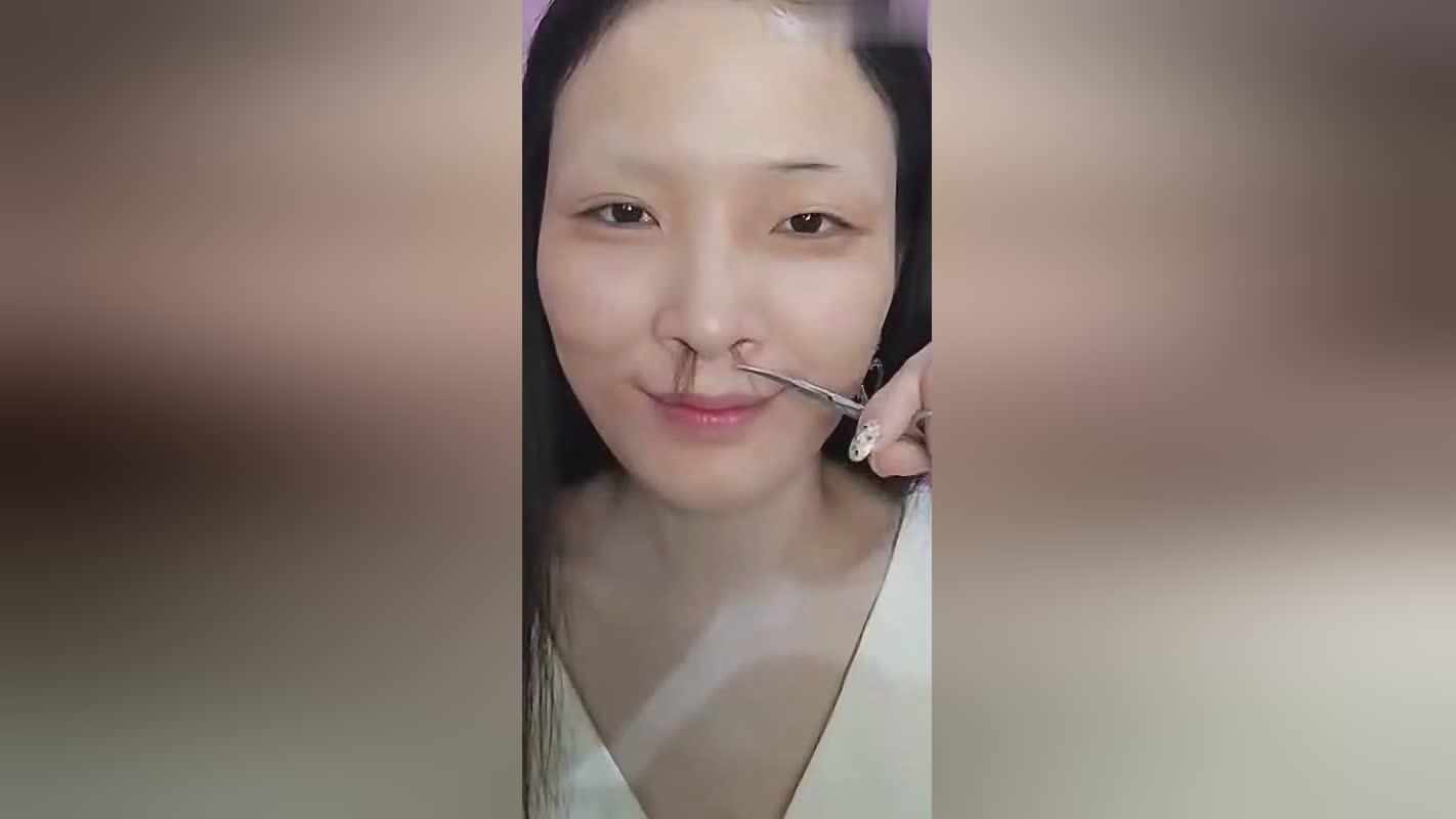 化妆技巧,没有丑的女人,只有懒的女人,化妆后大变样