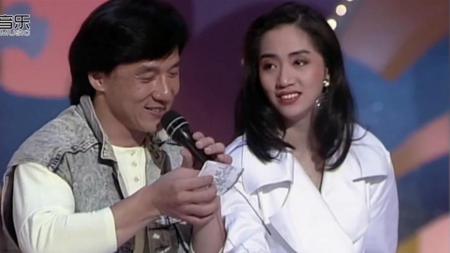 成龙绝对是个被电影耽误的歌手,和梅艳芳对标唱功太可爱了