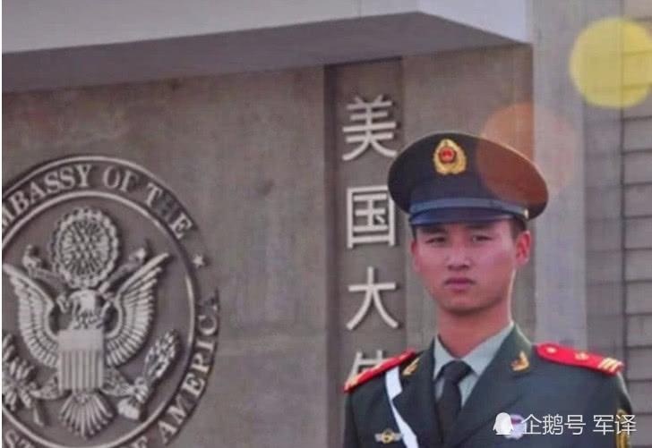 天龙八部私服怎么开为啥美国大使馆,是中国军人站岗?全球独一无二,原因让人称赞!