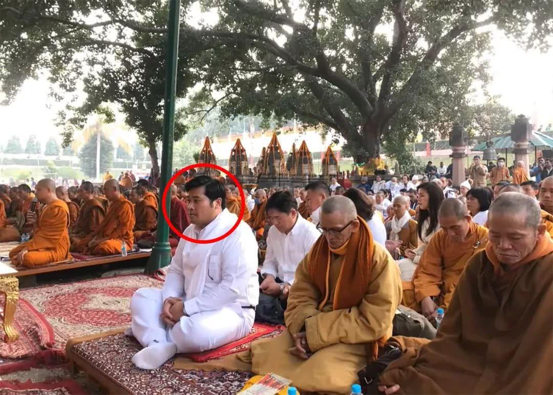 开全民奇迹私服多少钱泰国二王子又露面了,高调现身印度佛教圣地,这是在向父王施压啊