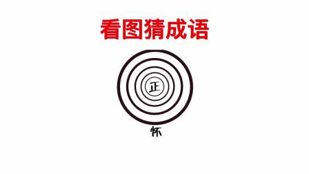 圆的中心有一个正字,下方一个怀字!请问这是什么成语?