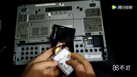 菜鸟修笔记本电脑不求人,自己换DELL D430硬盘,其他品牌也类同