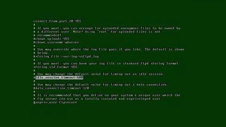 linux下ftp服务器的配置