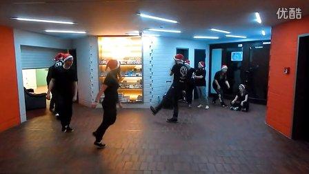 Jumpstyle和Shuffle圣诞节庆祝一下 【舞魂传奇】