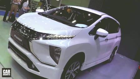 2020款三菱Xpander多版本亮相车展,颜值提升,简直不要太好!