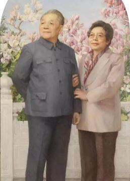 邓小平与卓琳剧照